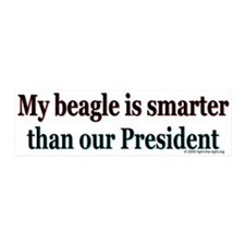 Beagle Anti-Bush 20x6 Wall Peel