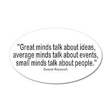 Great Minds 35x21 Oval Wall Peel