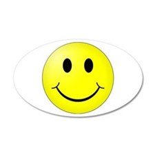 Classic Smiley 20x12 Oval Wall Peel