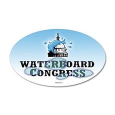 Waterboard Congress 35x21 Oval Wall Peel