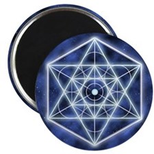 "Celestial Blue Star 2.25"" Magnet (100 pack)"
