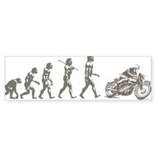 CAFE RACER EVOLUTION Bumper Sticker