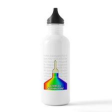 autistic activism Water Bottle