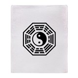 LOST DHARMA Yin Yang Throw Blanket