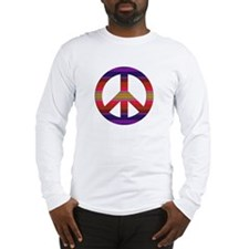 PeaceSignRainbowM Long Sleeve T-Shirt