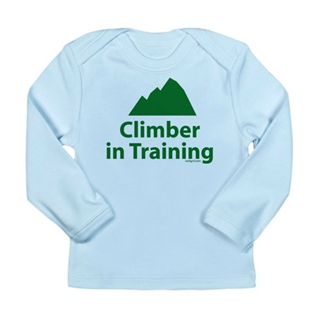 Climber in Training Long Sleeve Infant T-Shirt