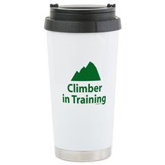 Climber in Training Ceramic Travel Mug
