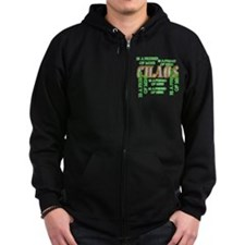 Chaos is a Friend of Mine Zip Hoodie