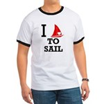 I Love to Sail Ringer T