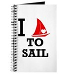 I Love to Sail Journal