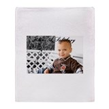Funny Blane's Throw Blanket