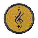 Classical Music Room Wall Clock