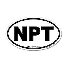 Northport NY NPT Euro 20x12 Oval Wall Peel