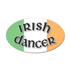 Tricolor Irish Dancer Sticker
