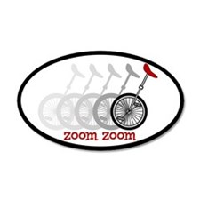 Uni Zoom 20x12 Oval Wall Peel