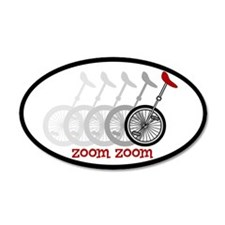 Uni Zoom 35x21 Oval Wall Peel
