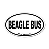 Beagle Designs 35x21 Oval Wall Peel