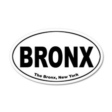 Bronx 35x21 Oval Wall Peel