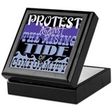 Protest Keepsake Box