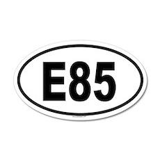 E85 20x12 Oval Wall Peel