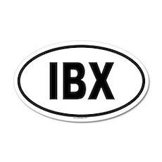 IBX 20x12 Oval Wall Peel