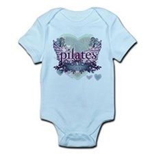 Pilates Forever by Svelte.biz Infant Bodysuit