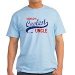 World's Coolest Uncle Light T-Shirt