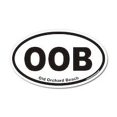 Old Orchard Beach OOB Euro 20x12 Oval Wall Peel