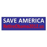 Save America Bumper Sticker Bumper Sticker