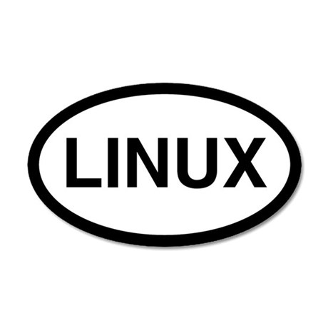 Linux 20x12 Oval Wall Peel