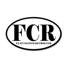 FCR Abbreviation Flat Coated Retriever Sticker