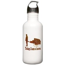 Today, I am a horse Water Bottle