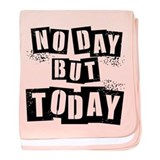 No Day baby blanket