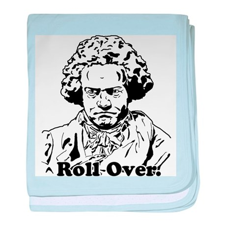 Roll Over Beethoven baby blanket