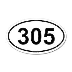 305 35x21 Oval Wall Peel