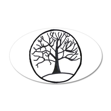 Tree of Life 20x12 Oval Wall Peel