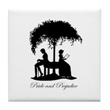 Mr Darcy Jane Austen Tile Coaster