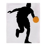 BASKETBALL *74* Throw Blanket