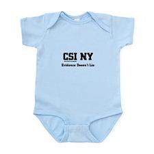 CSI NY Evidence Infant Bodysuit