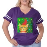 Pekingese Rule Organic Women's T-Shirt (dark)