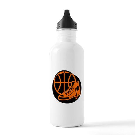 BASKETBALL *32* [orange} Stainless Water Bottle 1.