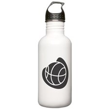 BASKETBALL *20* {gray} Water Bottle