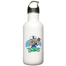 FOOTBALL *34* {blue} Water Bottle