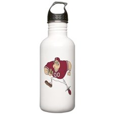 FOOTBALL *31* {crimson} Water Bottle