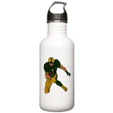 FOOTBALL *29* {green/gold} Water Bottle