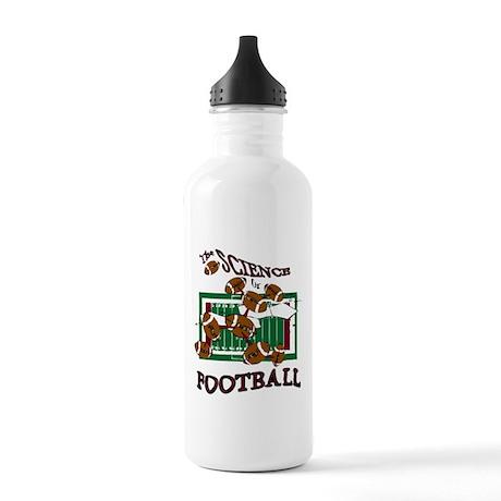FOOTBALL *28* {crimson} Stainless Water Bottle 1.0