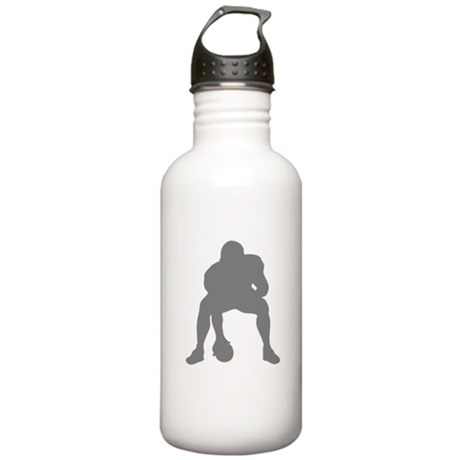 FOOTBALL *23* {gray 2} Stainless Water Bottle 1.0L