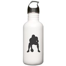 FOOTBALL *23* {gray 1} Water Bottle