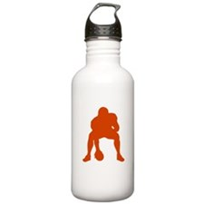 FOOTBALL *23* {orange} Water Bottle