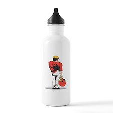 FOOTBALL *22* {red/white} Water Bottle